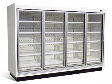Large Capacity Glass Door Freezer / Chiller