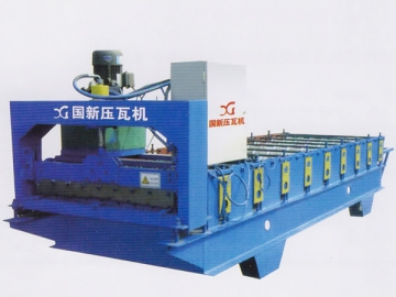 Roll Forming Machine <small>(for Roof Panel and Wall Panel)</small>