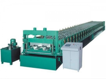 Roll Forming Machine   <small>(for Deck Plate)</small>