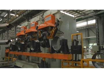 Steel Wheel Rim Manufacturing Equipment<small>(Offering complete production line and single machine for producing steel wheel rims)</small>