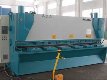 CNC Hydraulic Guillotine with Variable Rake