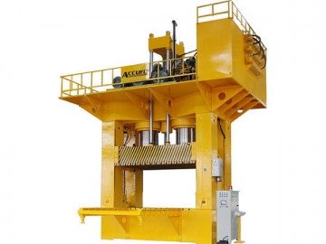 H-Frame Hydraulic Press  <small>(for SMC Molding)</small>