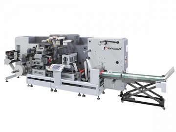 Rotary Die Cutting and Finishing Machine, TOP-330 Ultra Flexo