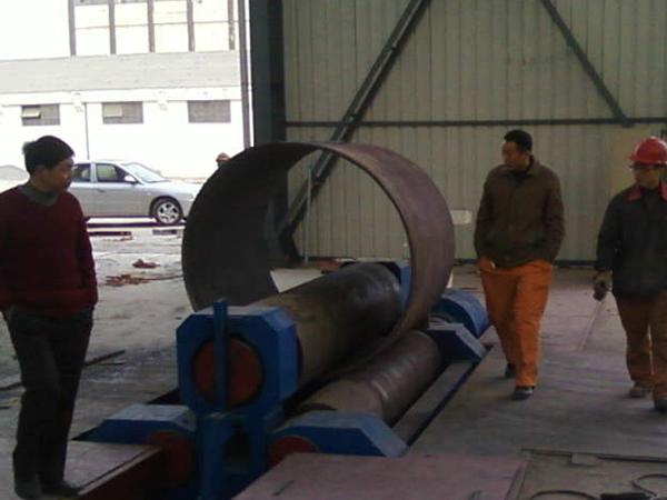 W11-50×3000 3-Roll Plate Bending Machine