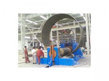 Plate Bending Machine, 3 Roll <small>(Horizontal Movement Type)</small>