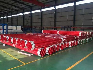 Plastic Coated Steel Pipe (for Water Supply)
