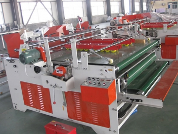 Semi Automatic Folder Gluer (Pressing Type)