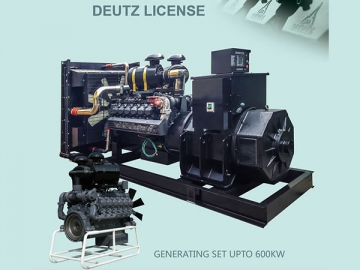 660kw DEUTZ Water-cooled Diesel Generator Sets