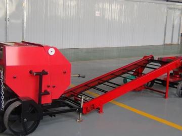 Round Bale Double Chain Conveyor