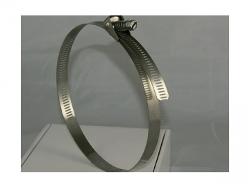 Quick Release Hose Clamp <small>(with Perforated Band)</small>