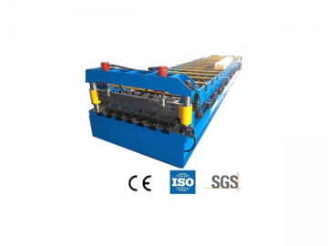 Roll Forming Machine (for Trapezoidal Roof Panel)
