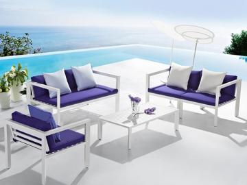 All Aluminum Outdoor Sofa