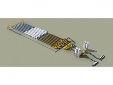 Autoclaved Sand-lime Brick Production Line