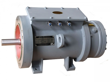 Three-Speed Three-Phase Induction Motor (for Lifting)