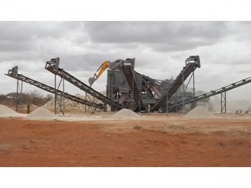 Kenya Mobile Crushing Plant, 60TPH