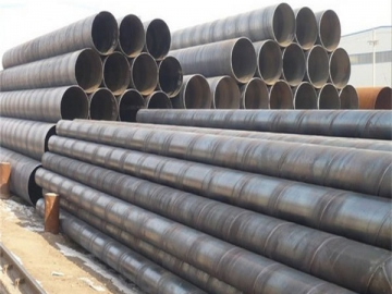 Spiral-Welded Steel Pipe and Tube