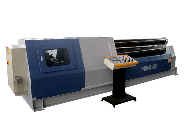 3 Roll Plate Bending Machine, Arc Movement Type