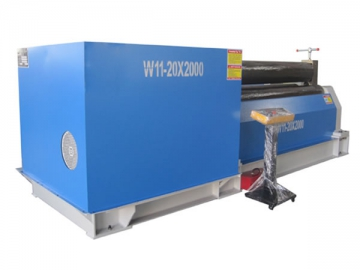 3 Roll Plate Bending Machine, Symmetrical Type