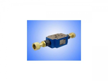 Pilot Operated Hydraulic Pressure Relief Valve, Sandwich Plate type