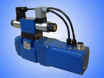 4/2 and 4/3 Proportional Directional Valve, Pilot Operated without Electrical Position Feedback, HD-4WRZ(E)