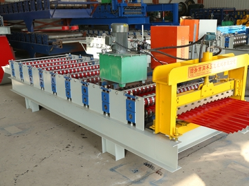 850 Corrugated Sheet Roll Forming Machine