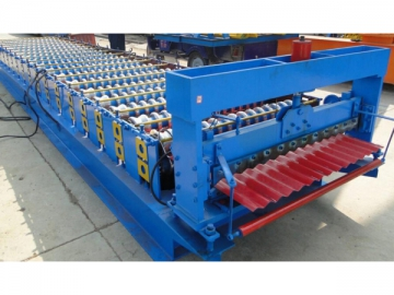 914 Corrugated Sheet Roll Forming Machine