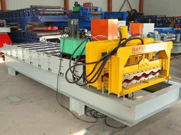 828 Metal Roof Tile Roll Forming Machine