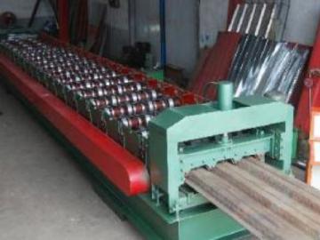 750 Metal Deck Roll Forming Machine