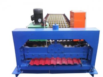 800 Roller Shutter Door Roll Forming Machine