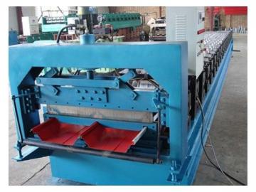 760 Standing Seam Panel Roll Forming Machine