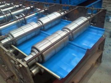 820 Standing Seam Panel Roll Forming Machine