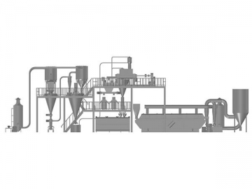 WP Formulation Jet Milling and Mixing System