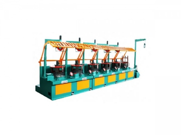 Overhead Take-off Wire Drawing Machine