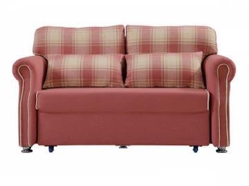 2-Seat Fabric Storage Sofa Bed