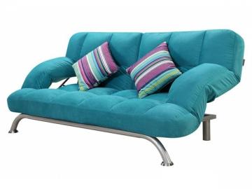 Metal Frame Fabric Sofa Bed