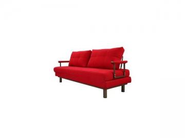 AD109 Wood Frame Fabric Sofa Bed