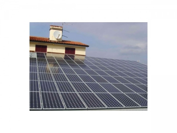PV Mounting System for Trapezoidal Roof