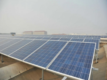 PV Mounting System for Pitched Roof