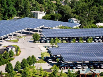 PV Mounting System for Solar Carports