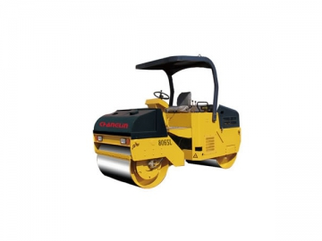 8065L Double Steel Drum Vibrating Road Roller