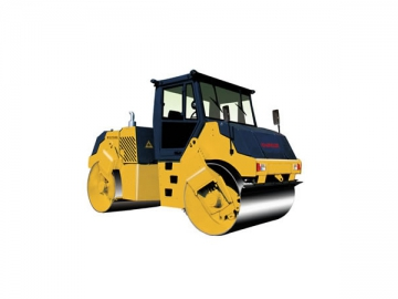 8125HL Double Steel Drum Hydraulic Vibrating Road Roller