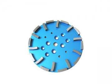 "250mm (10"") Grinding Plate for Blastrac Grinder"