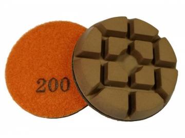 Resin Metal Concrete Floor Polishing Pad