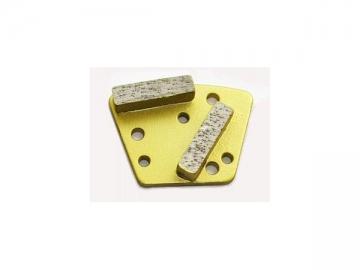 Trapezoid Bolt-On Grinding Plates