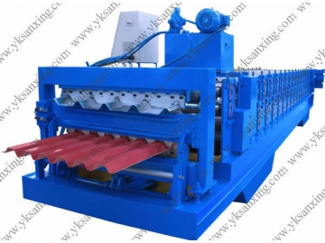 Double Layer Corrugated Sheet Roll Forming Machine