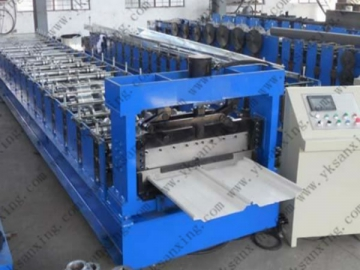 Concealed Roof Panel Roll Forming Machine