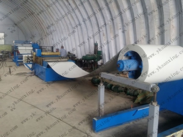 Uncoiling, Slitting and Collecting Line