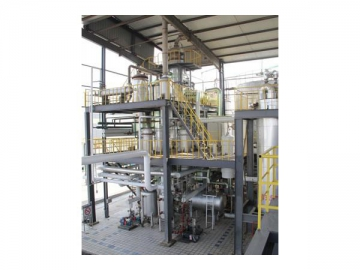 Waste Engine Oil Distillation Plant (Base Oil Production)