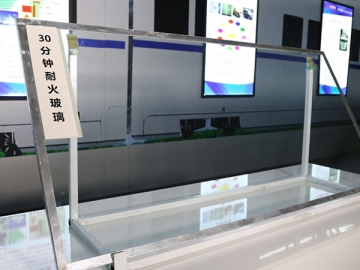 Multi-Laminated Fire Resistant Glass