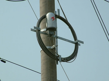 Fiber Optic Splice Closure for ADSS